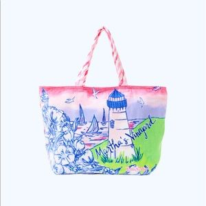 Lilly Pulitzer Martha's Vineyard Beach Tote bag